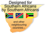 Designed for South Africans by South Africans